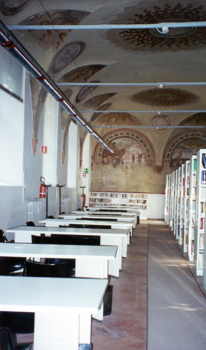 Sala degli affreschi